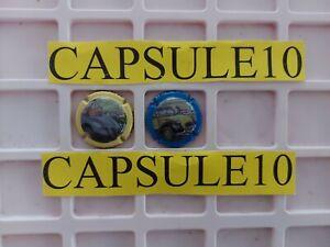 Lots 2  CAPSULES  DE CHAMPAGNE DOURY PHILIPPE les 2cv rare