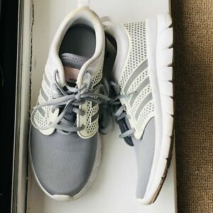 ADIDAS CLOUDFOAM NEO GROOVE WOMEN UK 5.5 GREY WHITE TRAINERS Neutral