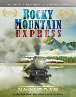 Imax: Rocky Mountain Express [New 4K UHD Blu-ray] With Blu-Ray 3-D, Widescreen
