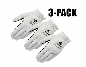 Bionic Mens RelaxGrip 2.0 Golf Glove New 2020 - 3 PACK - Choose Hand and Size