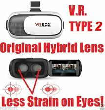 "BRAND NEW HQ VR BOX KIT VR Virtual Reality Glass Headset for Smart Phones 3-6"""