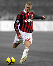 AC Milan DAVID BECKHAM Glossy 8x10 Photo Spotlight Poster Football Print Soccer