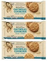 (Pack of 3) Red Oval Farms Oatmeal Cookies, Classic Crunch, 11.28 Oz