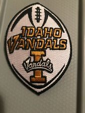 """University of Idaho Vandals Vintage Embroidered Iron On Patch 3.5"""" X 2.25"""""""