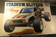 Tamiya Stadium Blitzer 1/10 Scale R/C Racing Pickup W/Charger & Remote Control!