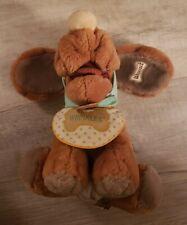 Vintage Wrinkles Dog Hand Puppet 1981 Ganz Bros. Plush Stuffed Animal Toy