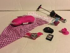 Monster High MH Draculaura Dead Tired Coffin Playset Accessories