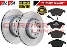 FOR VW GOLF MK6 2.0 TSi GTi FRONT 312mm BRAKE DISCS AND PADS PAD SET 09-12
