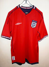 Umbro England Away 2002/2004 Season Shirt Reversible Chest 36/39 Mint Condition