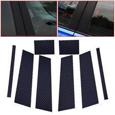 Carbon Fiber Door B-pillars Trim Cover Sticker fit for BMW 3 Series E90