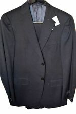 Two Button Solid Suits for Men with Regular Size 32 Waist