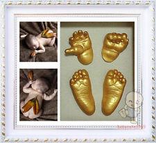 Shadowbox photo frame &  Baby 3D Casting Kit Baby Keepsake 100% Safe QQ