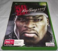 50 Cent Bulletproof XBOX Original PAL *No Manual*