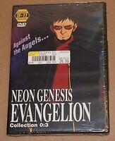 Neon Genesis Evangelion - Collection 3: Episodes 9-11 (DVD, 2001) R1 Brand New