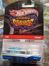 Hot Wheels Phil's Garage Real Riders Tires 8 Crate #2 of 39 Blue / Silver
