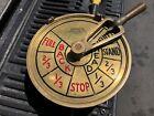 Bendix CA-13339-A USN Navy Brass Ships Engine Room Telegraph Large 38 LBs