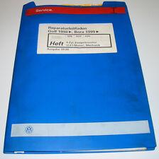 Werkstatthandbuch VW Golf 4 IV Typ 1J Bora 4 Zylinder 2,0 Liter Motor APK AZH