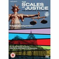 THE SCALES OF JUSTICE series collection. Edgar Lustgarten. 2 discs. New DVD.