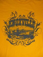 S yellow KNOXVILLE, TENNESSEE PICTURE t-shirt by GILDAN