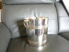 seau à champagne christofle très belle état en métal argenté