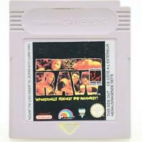 WWF Raw | Nintendo Game Boy Spiel | GameBoy Classic Modul | Gut