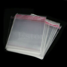 100pcs 10x15cm Packaging Poly Self Adhesive bags Plastic OPP Clear Pack Jewelry