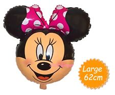 Minnie Mini Mouse Large Head Face Shaped Helium Quality Balloon Party Decoration