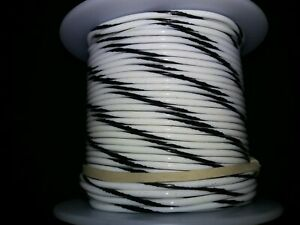 "18 GA. 19 Strand Type ""E"" Teflon Silver Plated MIL16878/4 200°C @ 600V 100 ft."