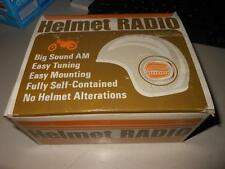 NOS Spectra-Nova Vintage Helmet Radio 1969 Motorcycle NOT TESTED