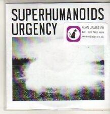 (BT972) Superhumanoids Urgency, Persona - DJ CD