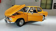 G LGB 1:24 Echelle BMW 2002 Ti Tii 1966 V détaillé Welly Voiture Miniature 24053