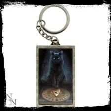 His Masters Voice 3D key ring by Lisa Parker fantasy Nemesis Now black cat gift
