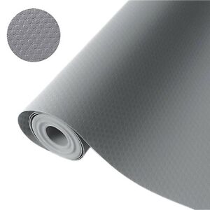 """Bloss Plastic Shelf and Drawer Liner,Non Adhesive Waterproof roll(17.7""""×5... New"""