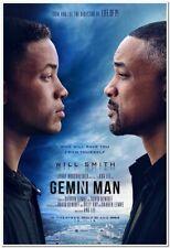 GEMINI MAN -2019- original 27X40 Movie Poster - WILL SMITH, CLIVE OWEN - Clones