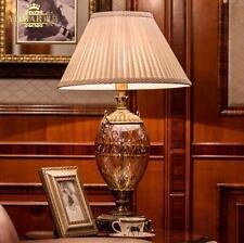 Europe Crystal Bedside Lighting Desk Table Lamp For Bedroom Home Decoration