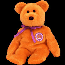 """TY BEANIE BABIES """"CELEBRATIONS THE BEAR EXCLUSIVE  PACK OF 6 MINT WITH MINT TAGS"""
