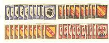 YVERT N° 755 à 758 x 10 BLASONS TIMBRES FRANCE NEUFS sans charnières