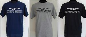 MOTO GUZZI CLASSIC LOGO solid bird t-shirt