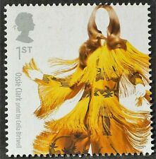 1960`s print by Celia Birtwell for outfit by Ossie Clark on 2012 Stamp - U/M