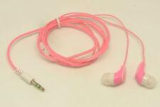 Kopfhörer Earphone in Ear Pink für iPhone 2G 3G 3GS 4 4S 5 iPod MP3 MP4 Player
