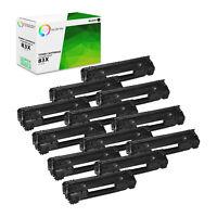 TCT 12 Black CF283X 83X High Yield Toner Cartridges For HP LJ Pro M201 M225 M127