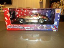 NEW American Muscle 1:18 1967 Corvette Die Cast St. Louis Cardinals CHROME CHASE