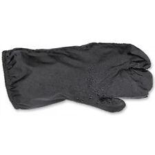Gants noirs doigts pour motocyclette Femme