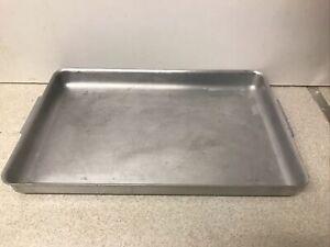 Vintage Aluminium Grundy (Teddington) Ltd Large Size Shallow Tray