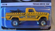 Hot Wheels 2015 HERITAGE Funda E TEXAS DRIVE Em Nuevo Raro HTF