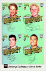 2010 Select NRL Champions Trading Cards Foil Signature Team Set(4) Bulldogs