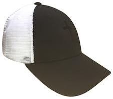 Black Christian Cross Mesh Golf Cap Hat Caps Religious Hats God Jesus Blackout