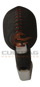 2010-2015 Camaro Genuine GM Automatic Suede Shift Knob Red Stitching 22834160