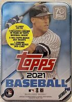 2021 Topps Baseball Series 1 AARON JUDGE Collectible Tin - Factory Sealed