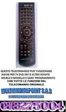 TELECOMANDO UNIVERSALE TV E DIGITALE TERRESTRE DECODER I-CAN Mod. 1850S